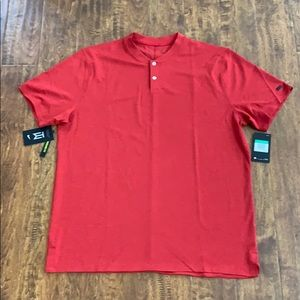 Nike Men's Golf Tiger Woods AEROREACT Polo Size XL